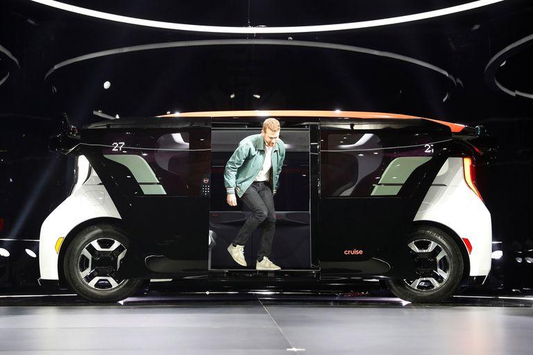 El Cruise Origin puede llevar a seis pasajeros y su conducción es autónoma