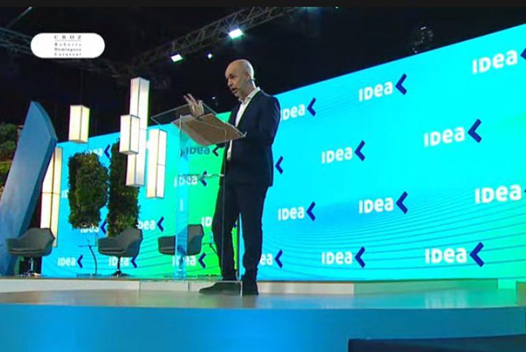 Horacio Rodríguez Larreta expuso en el Coloquio de IDEA