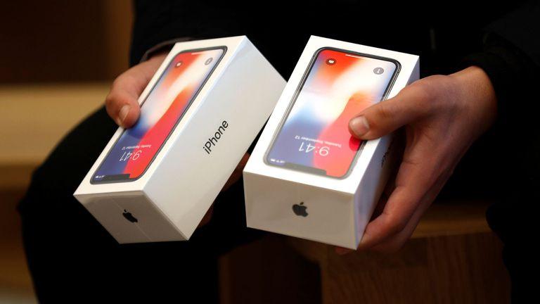 El iPhone X fue un éxito de ventas pese a su alto precio: 999 dólares