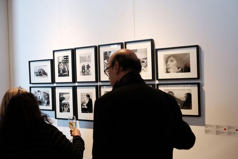 Varias fotografías del archivo de la editorial Abril se vendieron en Vasari antes de la inauguración de la feria