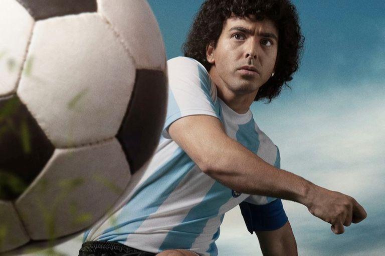 Elnueve, finalmente, venció en la puja con eltrece por quedarse con la serie de Maradona