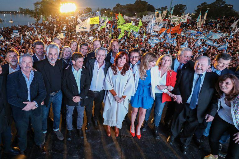 Fernández pidió fortalecer la unidad peronista