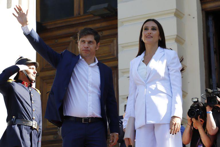 Axel Kicillof y su esposa Soledad Quereilhac, que quedó involucrada en la trama de las vacunas vip tras la declaración judicial de Beatriz Sarlo