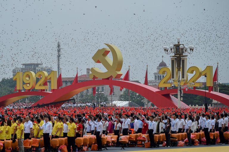 La amenaza de Xi Jinping al mundo en el acto por los 100 años del Partido Comunista Chino