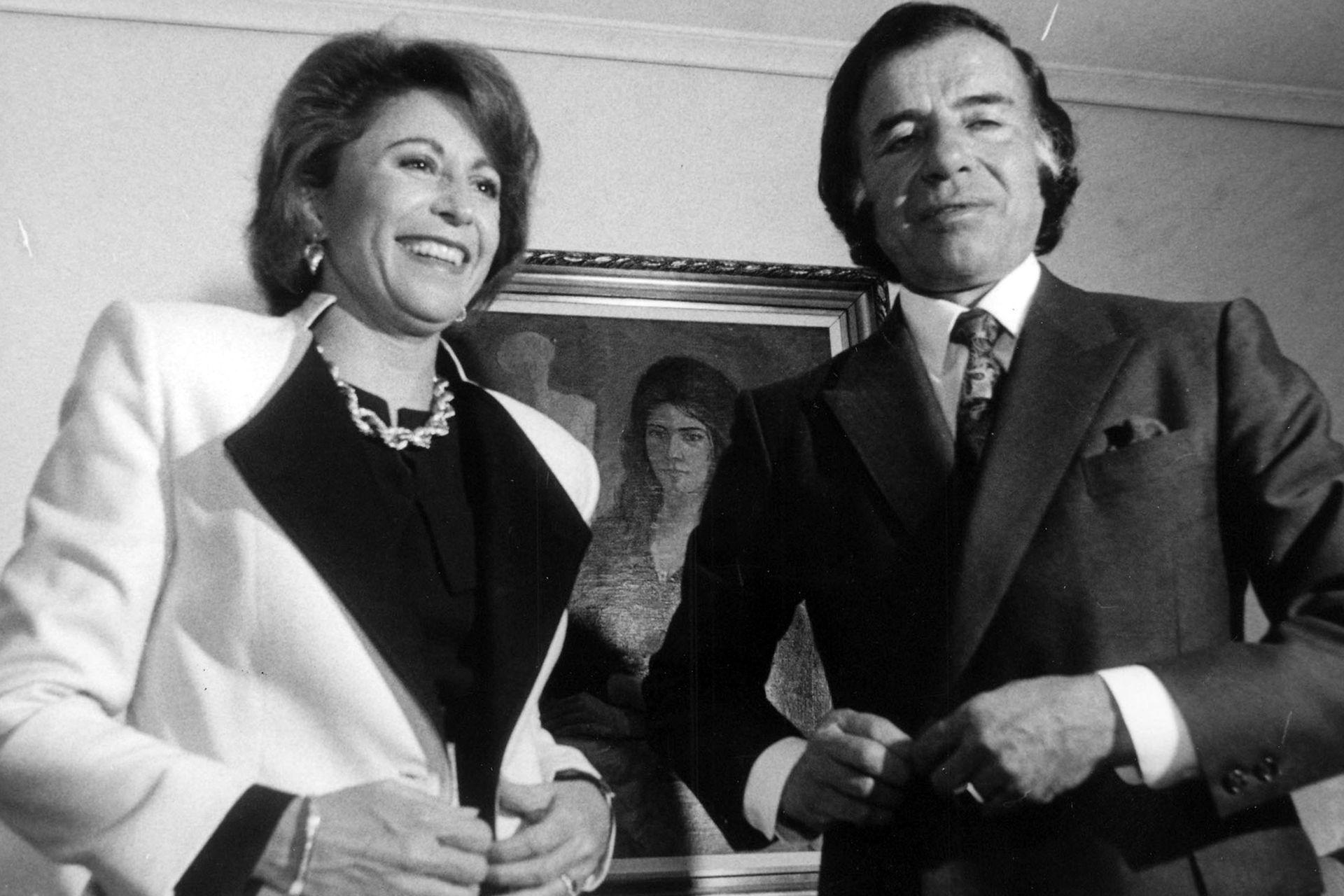 María Julia Alsogaray fue una funcionaria estrella de su primer mandato; después terminaría rodeada de escándalos