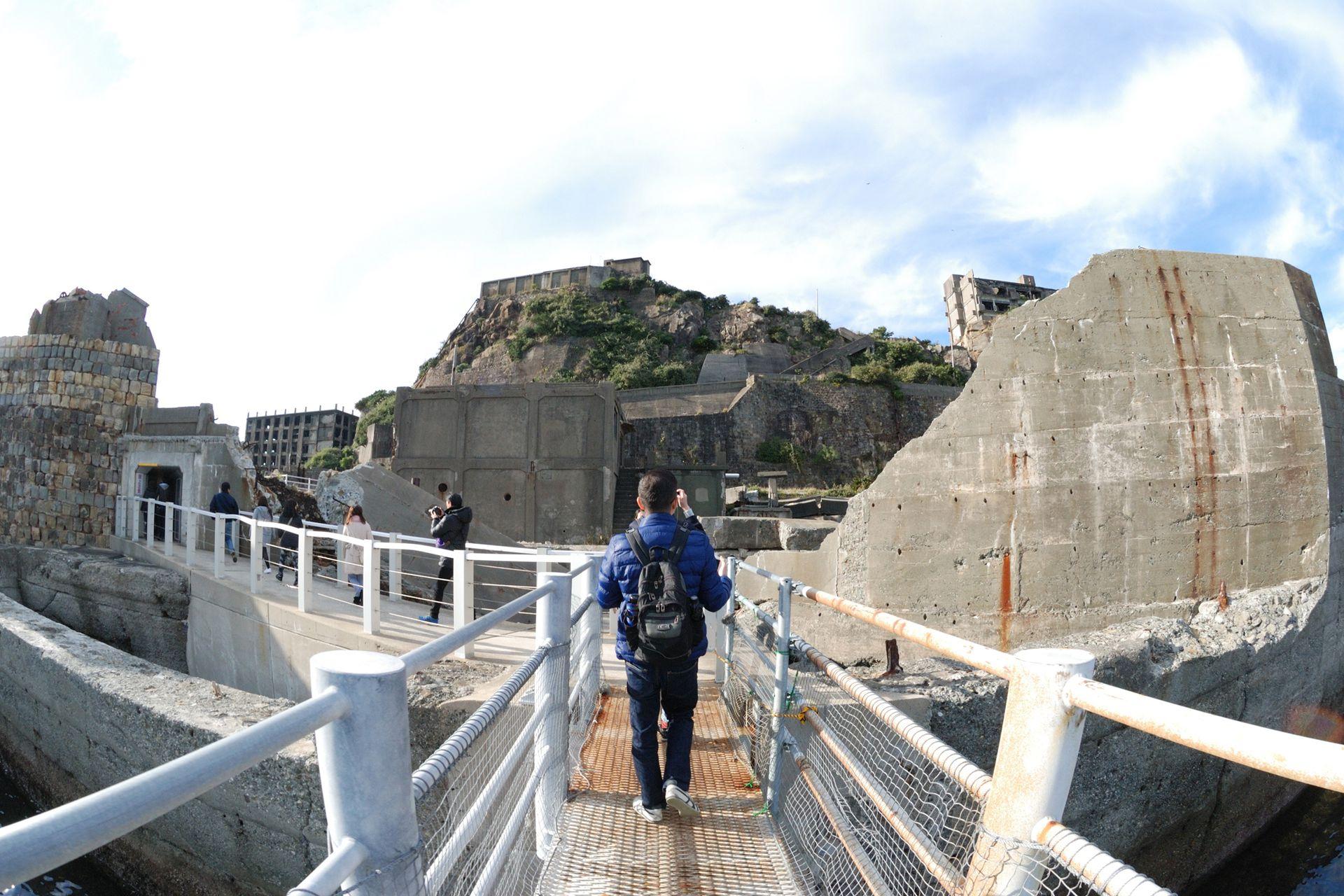 Hashima fue declarada Patrimonio Cultural de la Humanidad por la Unesco en el año 2015 y puede ser visitada por turistas
