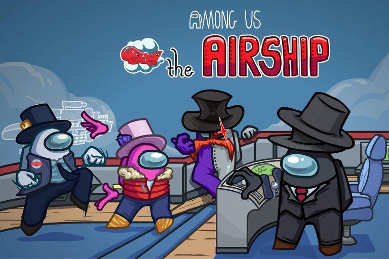The Airship: Among Us lanzará un nuevo mapa el 31 de marzo