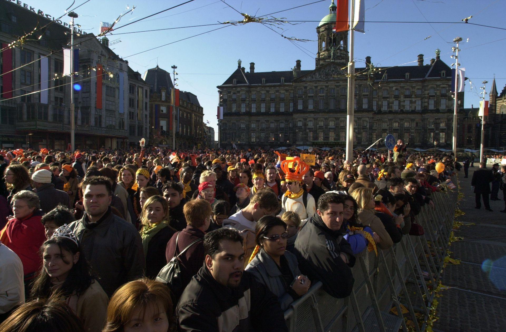 Se reunieron más de 80 mil personas en la capital holandesa