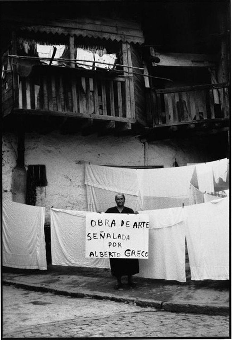 Alberto Greco en Piedralaves, 1963