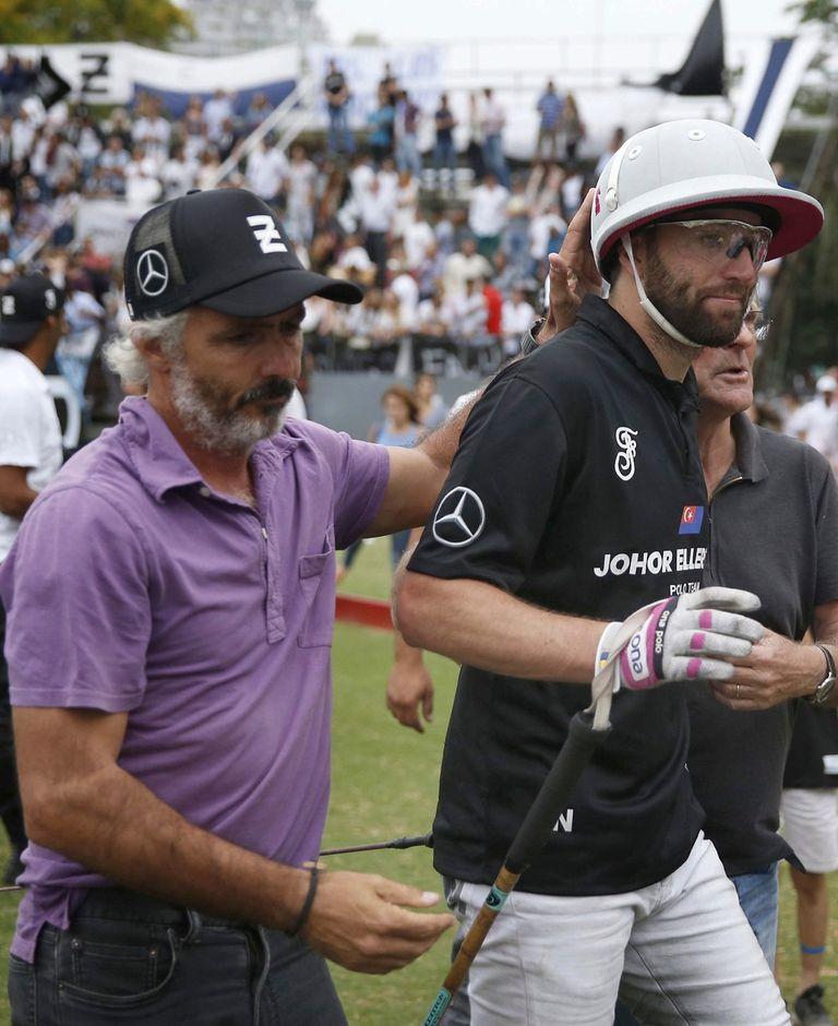 Mariano Aguerre, cuñado de los tres hermanos Pieres, dejó su lugar a Polito en La Z en 2015 y luego fue director técnico del equipo negro; muchas veces Ellerstina privilegió a la familia para componer el cuarteto.