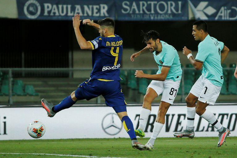 Otra vez se le escapó. Inter igualó y quedó a 10 puntos de Juventus en el Calcio