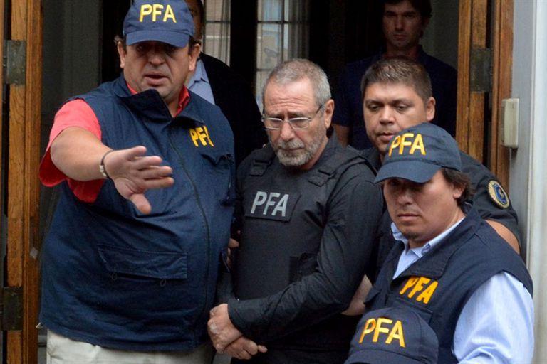 Jaime, cuando se entregó a la Policía de Córdoba