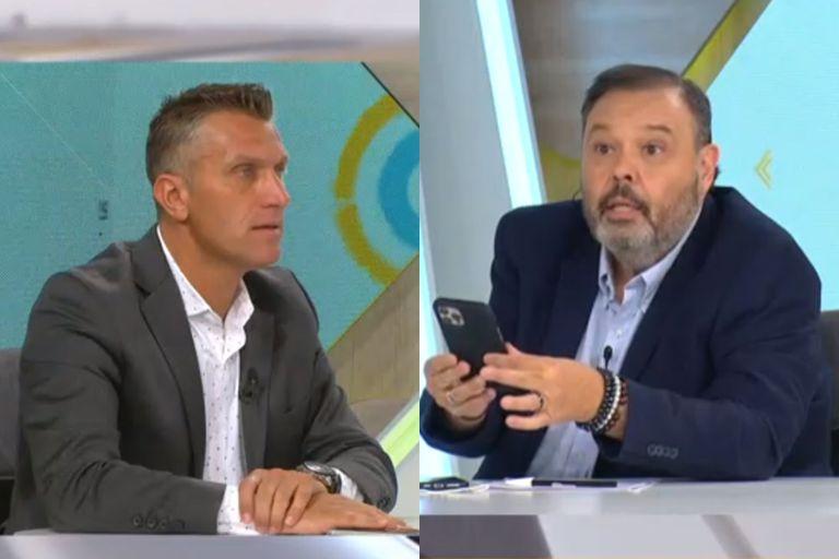 """El cruce entre Daniel Fava y Marcelo Palacios: """"No me faltes el respeto"""""""