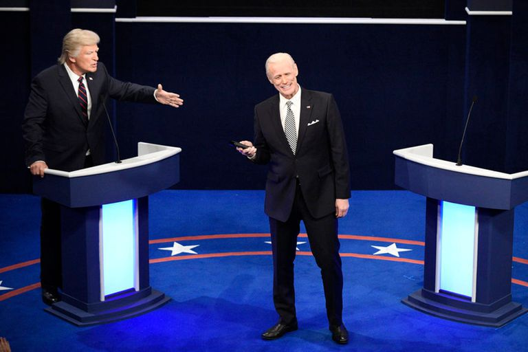 Jim Carrey imitó a Joe Biden en el regreso de Saturday Night Live