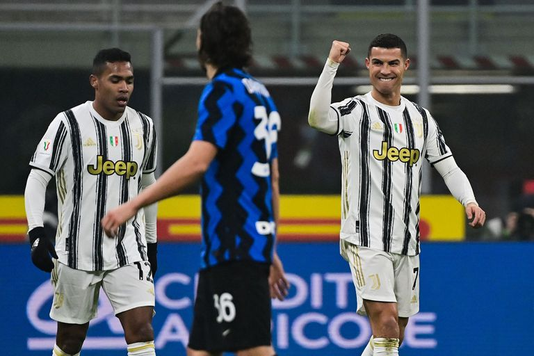 Cristiano 2-Lautaro 1. Juve lo dio vuelva ante Inter, con goles de sus figuras