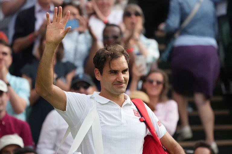 Todos contentos: Federer deja el court central envuelto en una ovación