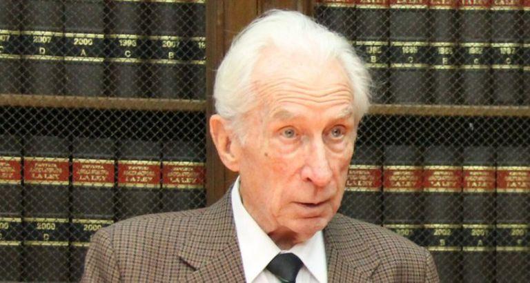 Adiós a Eugenio Bulygin, abogado y académico comprometido con la democracia
