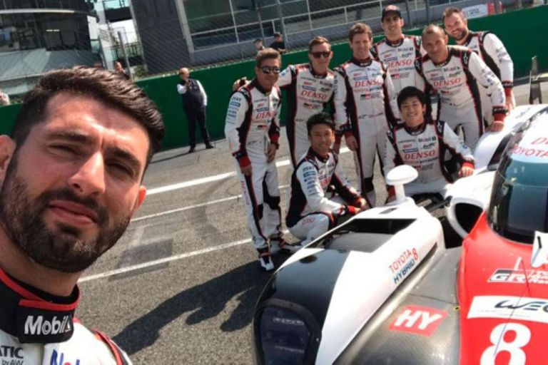 Compañerito nuevo: Pechito López correrá con Fernando Alonso en Toyota