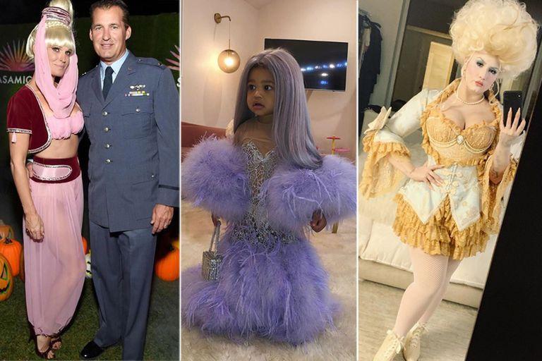 Todos los famosos en una fiesta de Halloween: ¿Quién gana en el ranking de los mejores disfraces?