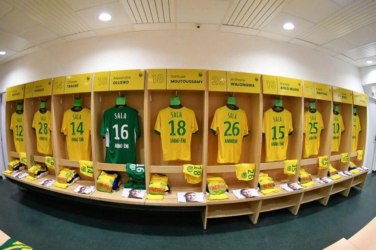 Las camisetas del Nantes con el homenaje a Emiliano Sala