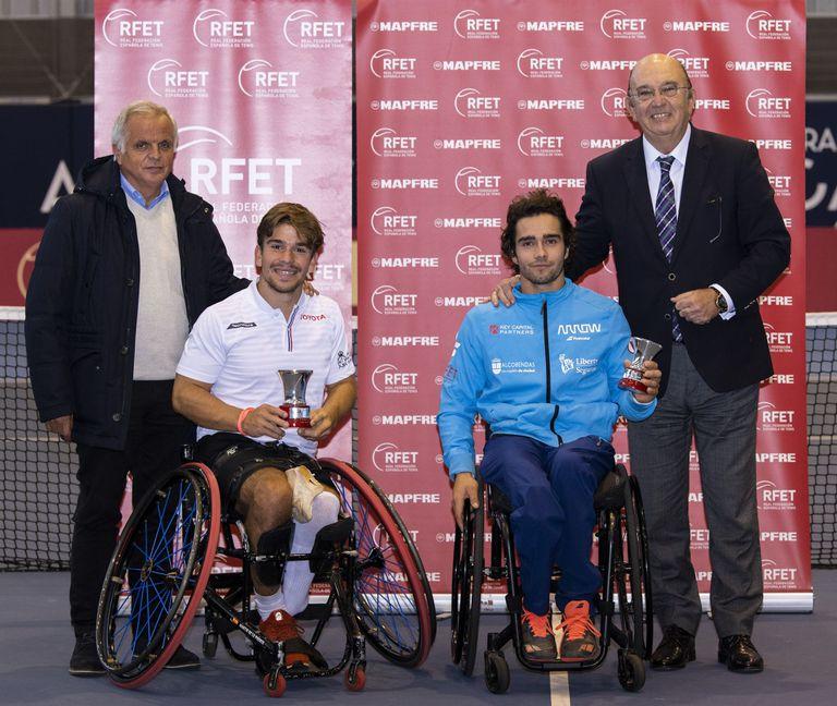 21-12-2019 Martín de la Puente, campeón de España de tenis en silla de ruedas DEPORTES ÁLVARO DÍAZ / RFET