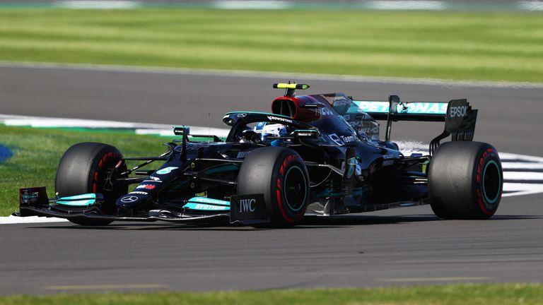 Valtteri Bottas terminó en el tercer lugar del sprint del GP de Gran Bretaña.