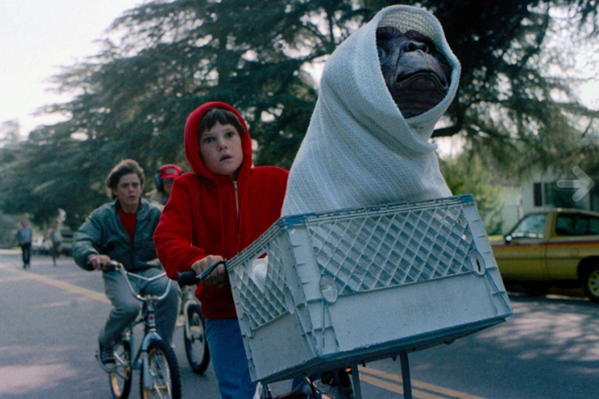 La fisonomía de E.T. era algo que preocupaba al director