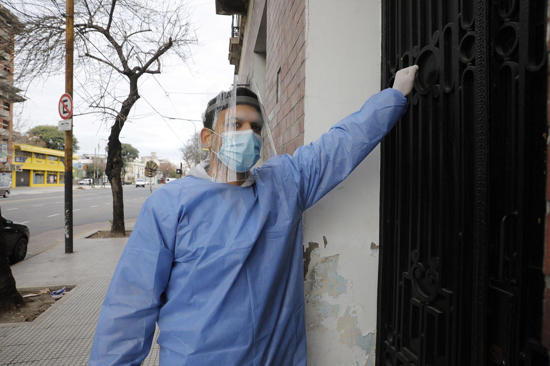 Emilio Ramírez participó en el programa Detectar en la villa 31, donde vive, y en Boedo