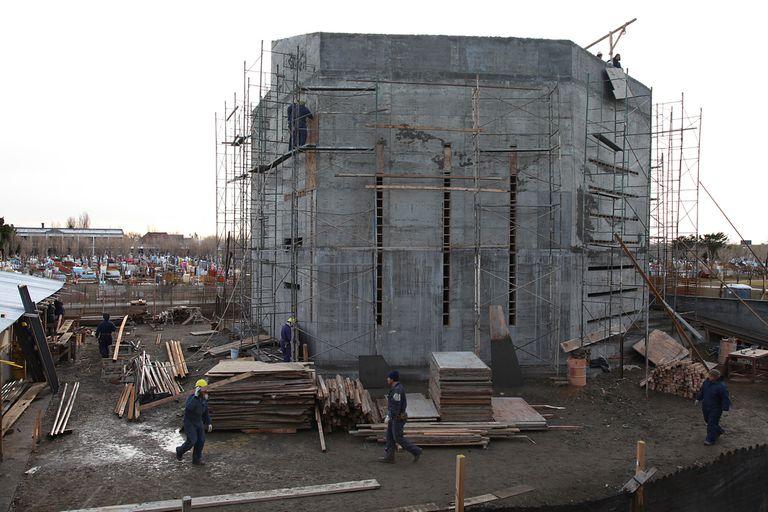 La construcción de la bóveda