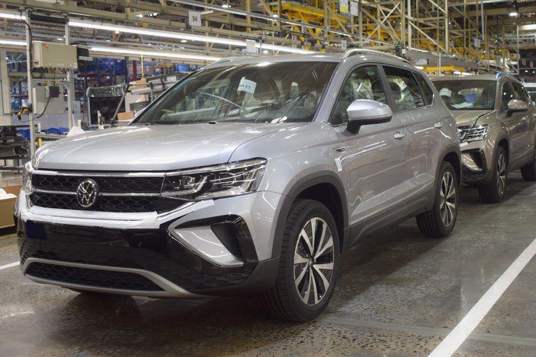 El nuevo Volkswagen Taos que se fabrica en el Centro Industrial General Pacheco