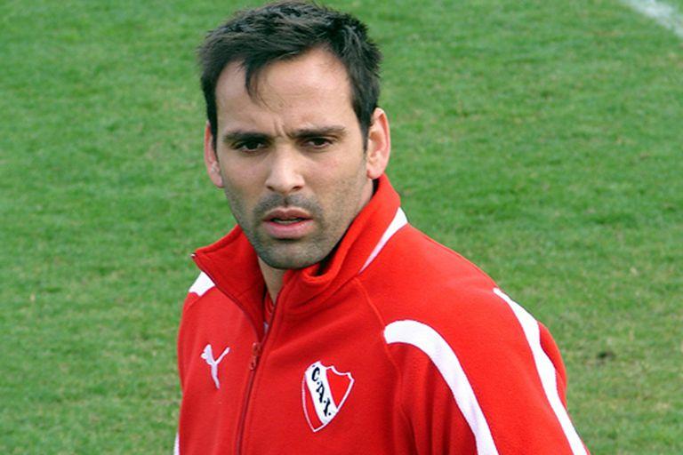 Facundo Parra y su alegría tras el triunfo y sus goles