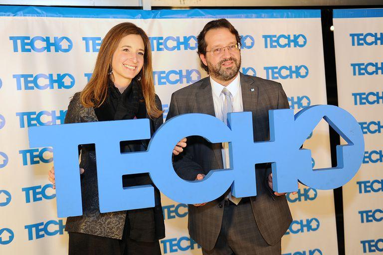 Marco Lavagna presente en el festejo de Techo