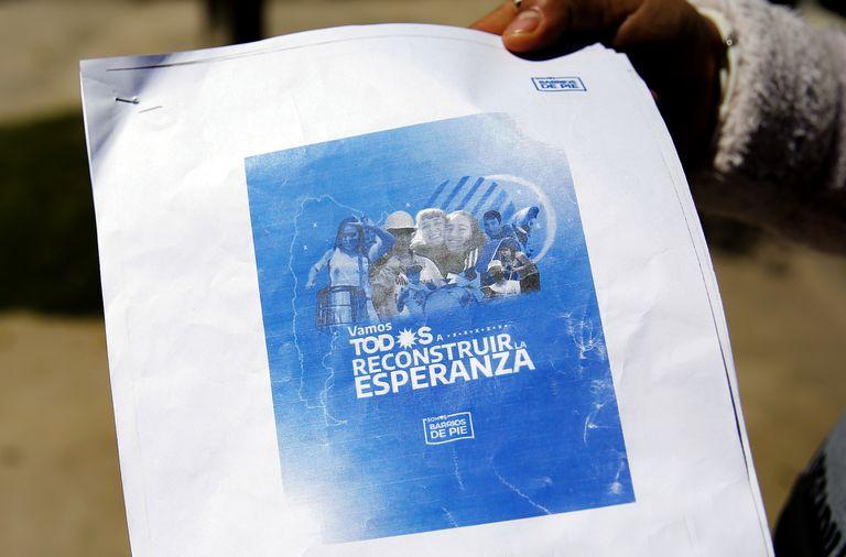 """""""A militar para reconstruir la esperanza"""" es el lema con el que la organización que lidera el candidato a diputado nacional bonaerense, Daniel Menéndez, comenzó a recorrer el conurbano en búsqueda de los votos perdidos."""