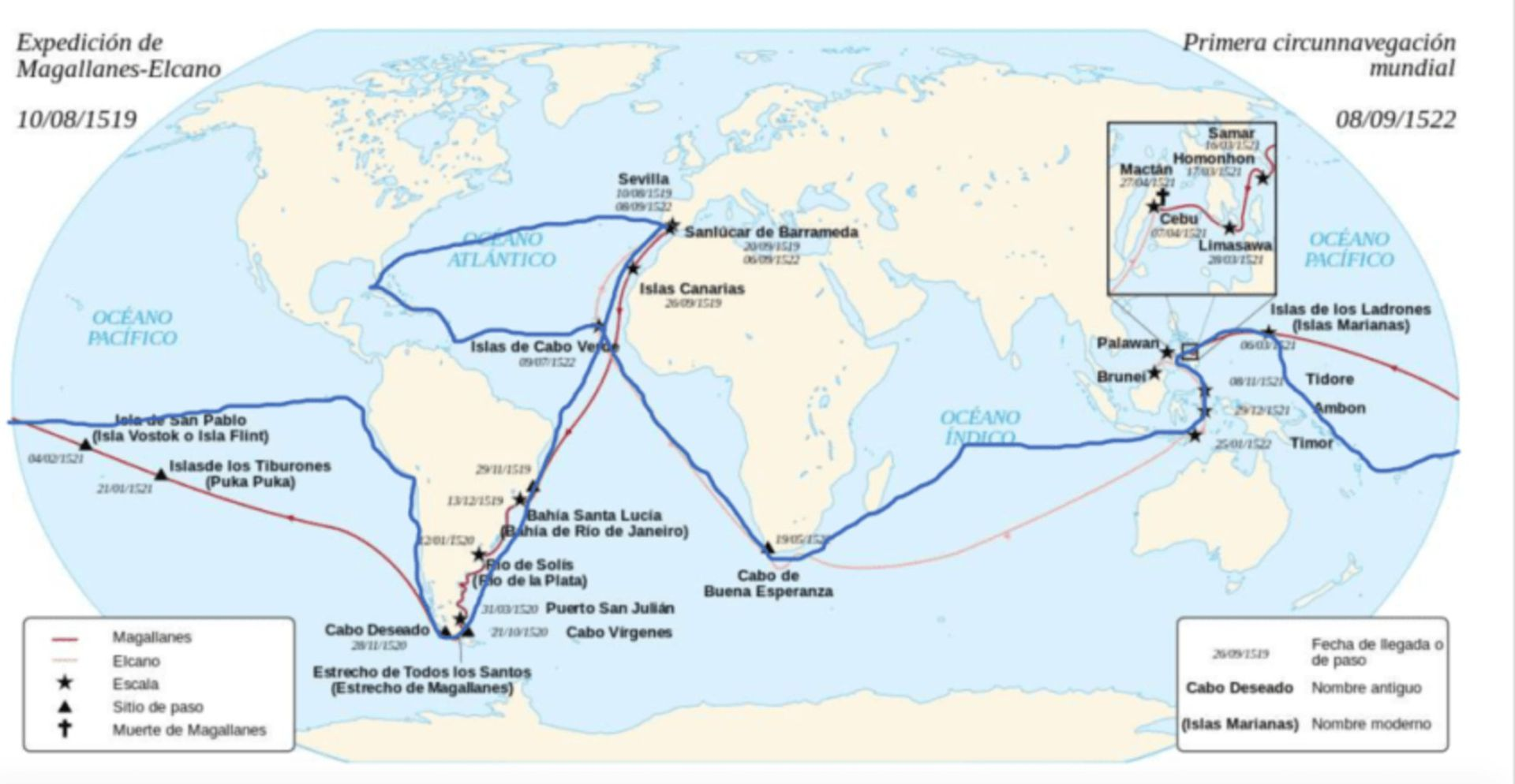 El recorrido que da la vuelta al mundo durará tres años