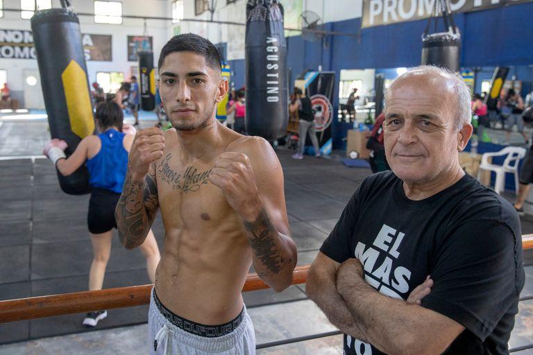 Original: el joven boxeador que escapa del show y eligió a un viejo maestro