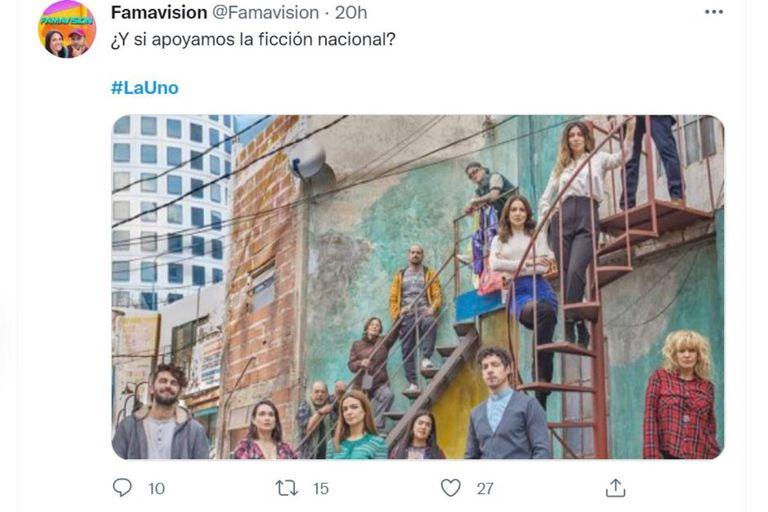 Varios tuiteros decidieron no criticar a La 1-5/18 y apostaron por el apoyo a la ficción nacional