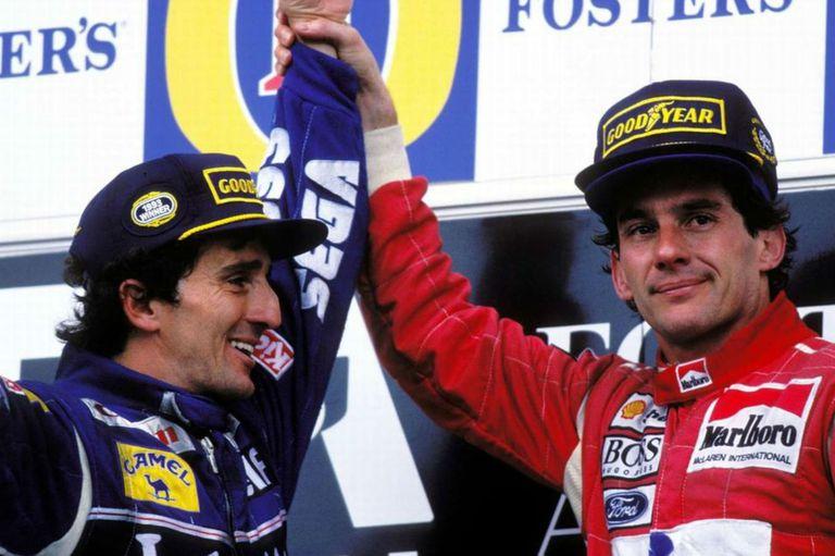 Prost, sobre Senna: rivalidad, seis meses de amistad y la muerte que cambió todo