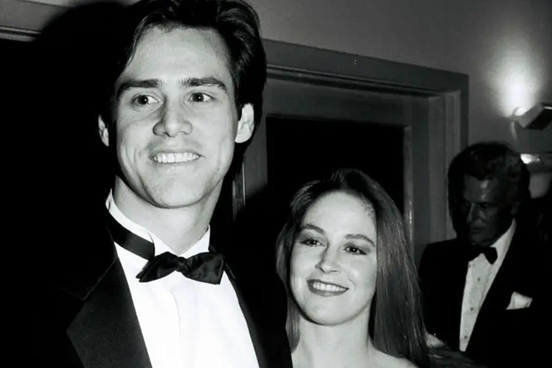 Con Melissa Womer, su primera esposa y madre de su hija, Erin