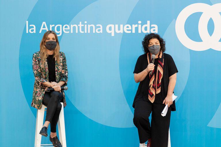 Carla Vizzotti y Cecilia Nicolini son el tándem elegido por Alberto Fernández para negociar por las vacunas