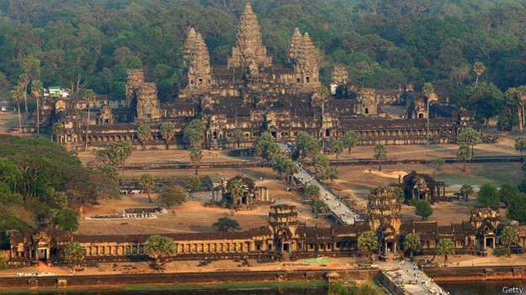 No hay nada en el mundo que pueda competir con Angkor, ni siquiera el Vaticano