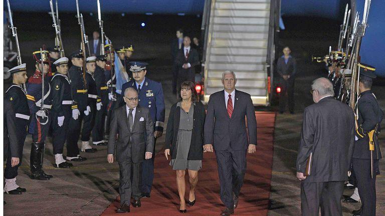 Macri recibirá al Vicepresidente de EE.UU. en la quinta de Olivos