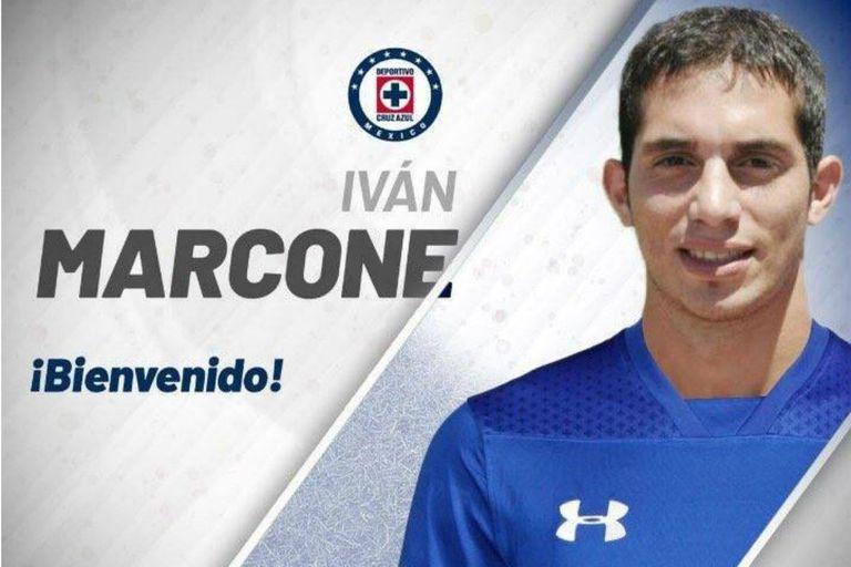 De Lanús a México: Iván Marcone firmó su contrato con Cruz Azul
