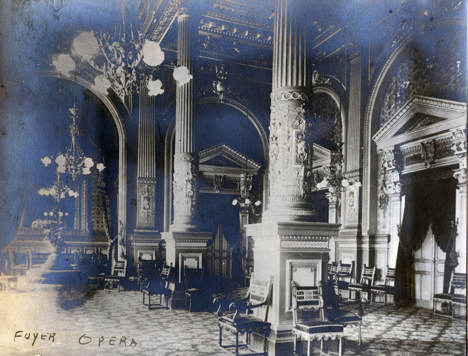 El Ópera, uno de los más lujosos.