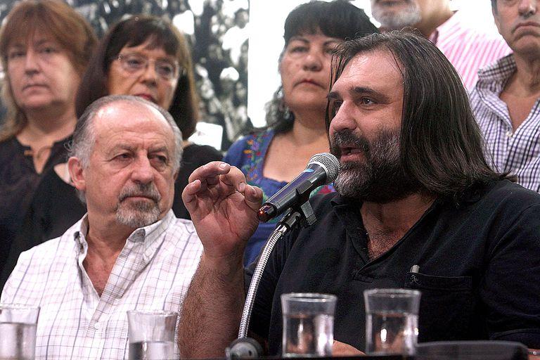 Yasky y Baradel respaldaron a Moyano y se suman a la marcha del 22