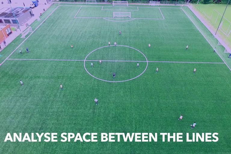 Los lugares comunes del fútbol vistos desde un drone