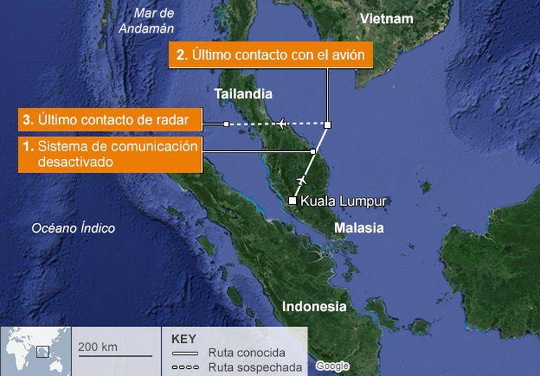 Más de 15 países colaboran con las operaciones de búsqueda
