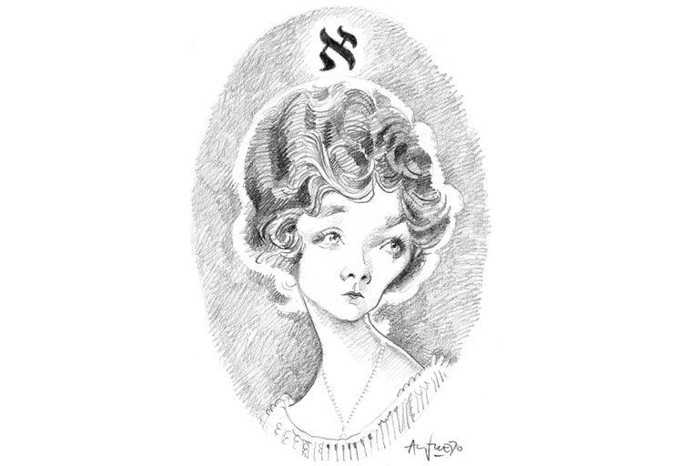 Retrato de Beatriz Viterbo, de Alfredo Sábat
