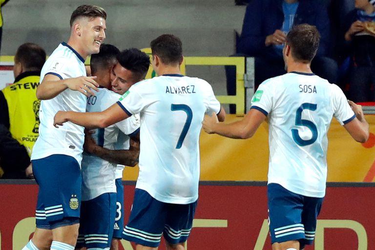 Gran debut: la Argentina goleó por 5-2 a Sudáfrica en el Mundial Sub 20