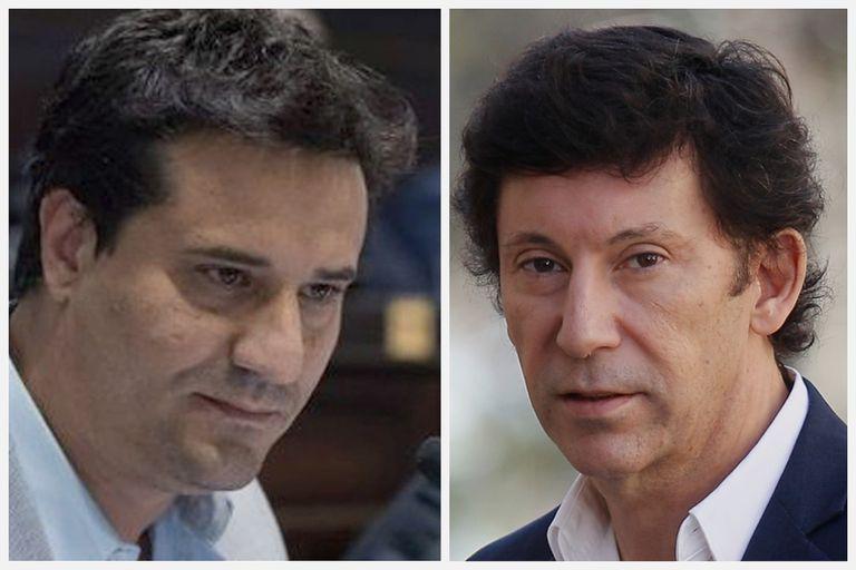 Maximiliano Abad y Gustavo Posse, los rivales