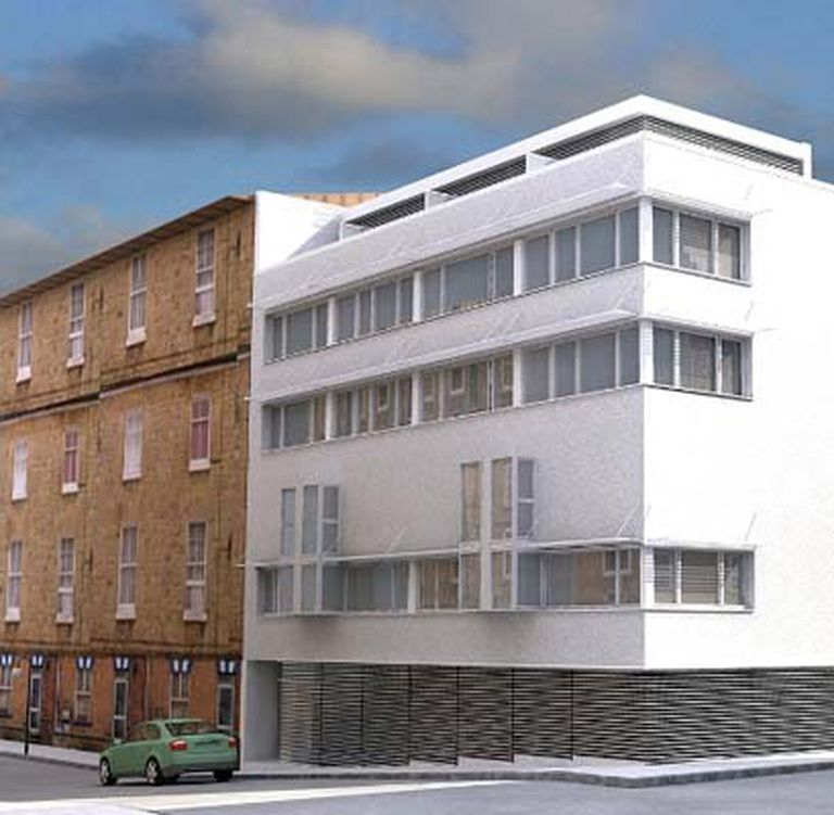 Pisos Contemporáneos, desarrollo inmobiliario en Madrid, de los arquitectos Roberto Busnelli, Flavio Janches y Ricardo Blinder